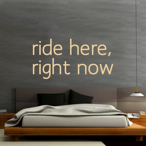 ride here