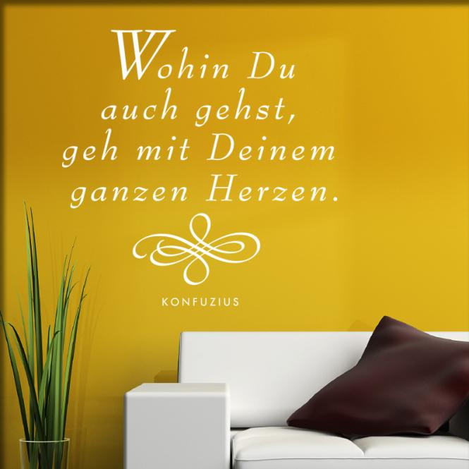 herzkauf wandtattoo shop wohin du auch gehst online. Black Bedroom Furniture Sets. Home Design Ideas